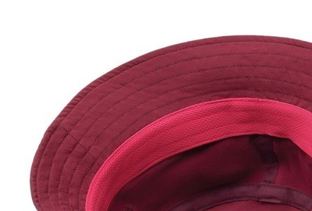 Kapelusz Buff Trek Bucket Hat Calyx Dark Red