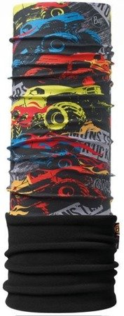 Komin Junior Polar Buff® MONSTER TRUCK / BLACK
