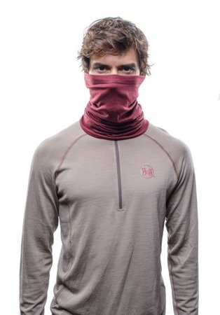 Chusta Buff Merino Wool Lightweight SOLID WINE