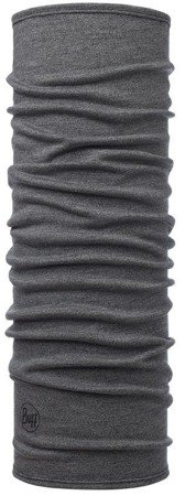 Chusta Buff Midweight Merino Wool Light Grey Melange