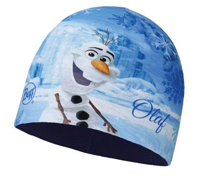 Buff Czapka Junior z Microfibry i Polaru FROZEN OLAF BLUE
