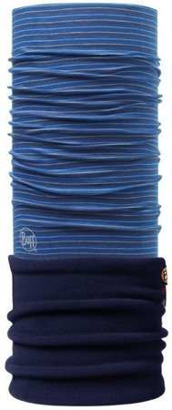 Komin Polar Buff YARN DYED STRIPES POLAR BUFF® DOME / NAVY