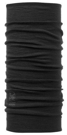 Chusta Merino Wool Buff BLACK