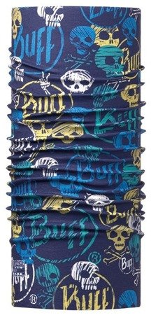 Chusta High UV Protection Child Buff Funny Skulls Dark Navy
