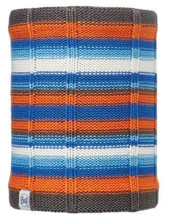 Komin Junior Neckwarmer Buff Knitted and Polar LAD BLUE