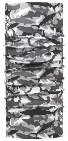 Chusta Angler UV Buff®  Shark Camo Grey
