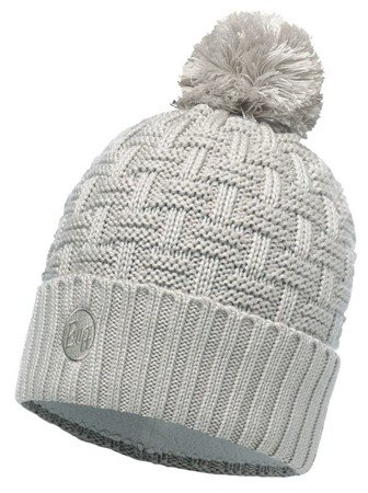 Buff Czapka Knitted & Polar Airon Mineral Grey