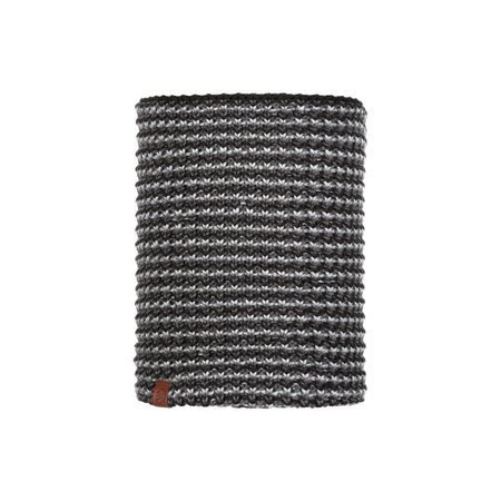 Komin Buff Knitted & Fleece Neckwarmer Raisa GRAPHITE