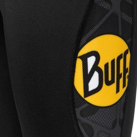 Buff Spodnie ELMER Long Tights Black