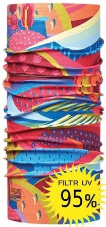 Chusta High UV Protection Child Buff Colourful Mountains
