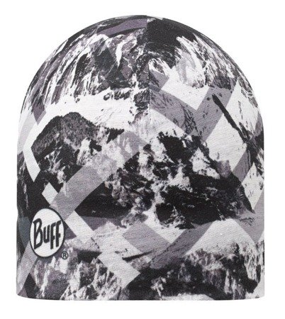 Zestaw Buff Czapka dwustronna z Microfibry Mountaintop Grey - Black + Chusta Original Buff® MOUNTAINTOP
