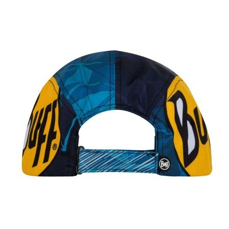 Buff Czapka Do Biegania Run Cap R-Helix Ocean