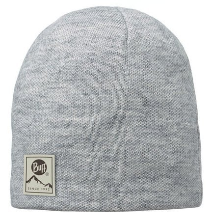 Czapka Knitted & Polar Buff Willa Melange Grey