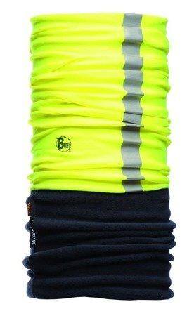Komin Polar Reflective Buff® Protection YELLOW FLOUR
