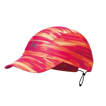 Buff Czapka Do Biegania Pack Run Cap R-Akira Pink