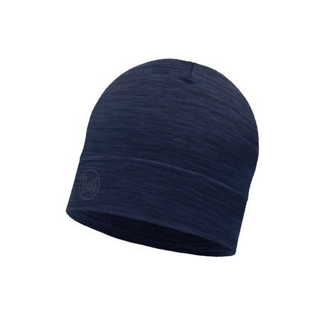 Buff Czapka Lightweight Merino Wool Hat SOLID DENIM