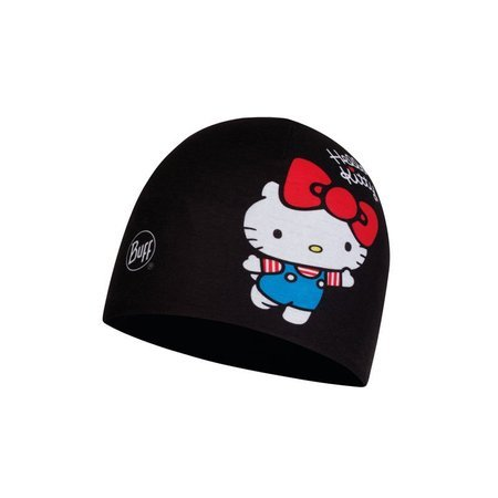 Czapka Buff Child Microfiber & Polar US Hat Hello Kitty 45TH BLACK