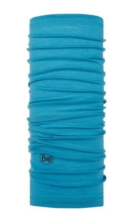 Chusta Buff Merino Wool Lightweight SOLID SCUBA BLUE
