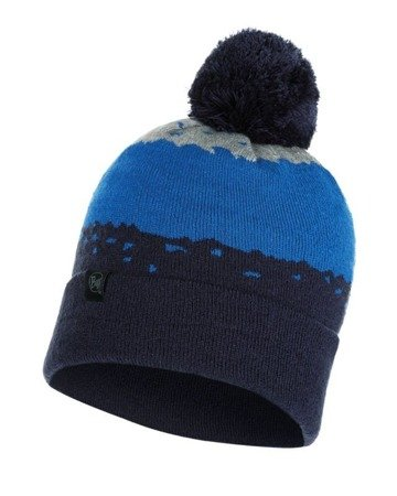 Czapka Knitted Buff Tove NIGHT BLUE