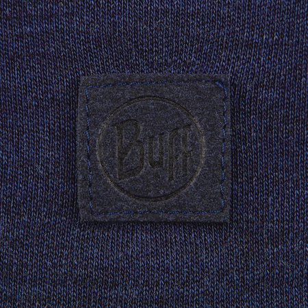 Czapka Buff Heavyweight Merino Wool Hat SOLID DENIM
