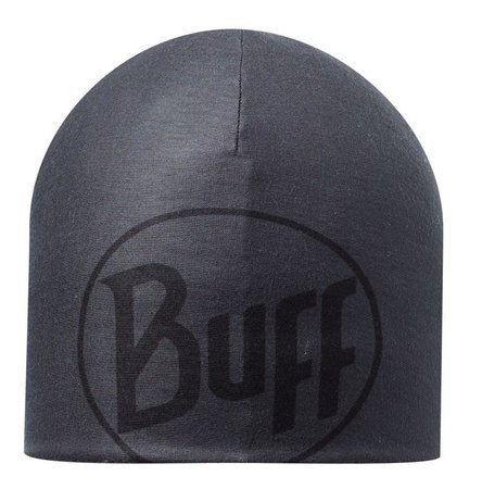 Buff Czapka Microfiber and Polar Hat Logo Graphite