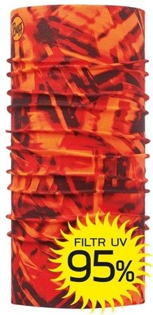 Chusta High UV Protection Buff® NITRIC ORANGE FLUOR