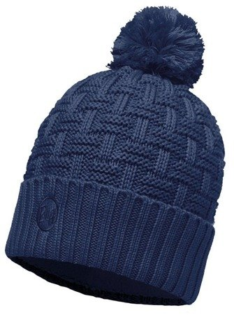 Buff Czapka Knitted & Polar Airon Dark Denim