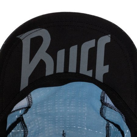 Buff Czapka Do Biegania Pro Run Cap R-LITHE BLACK
