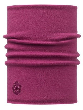 Merino Wool Thermal Neckwarmer Buff PINK CERISSE