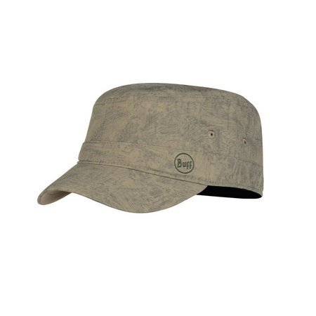 Czapka Buff Military Cap ZINC TAUPE BROWN