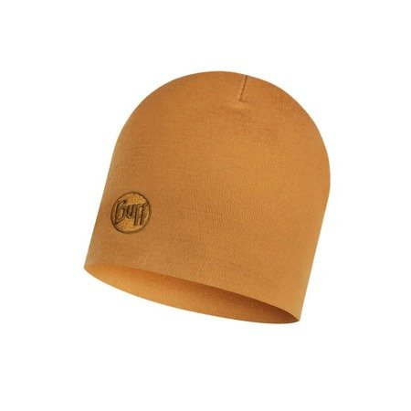 Czapka Zimowa Buff Heavyweight Merino Wool Hat SOLID CAMEL