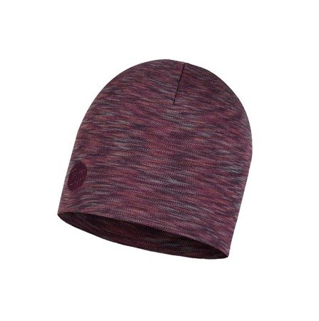 Czapka Zimowa Buff Heavyweight Merino Wool Hat SHALE GREY MULTI STRIPES