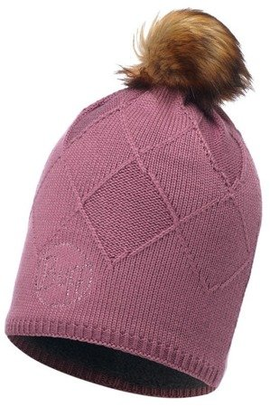 Buff Czapka Knitted & Polar Stella Heather Rose