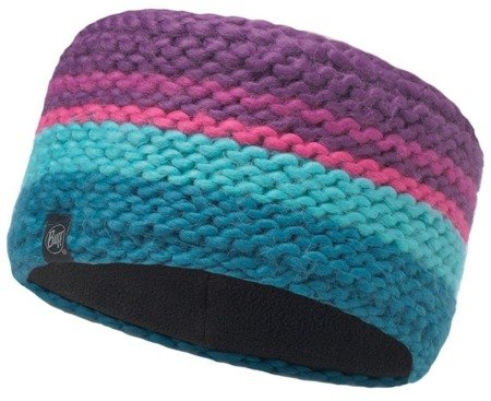 Opaska Headband Knitted Polar Buff Dorian Purple Imperial