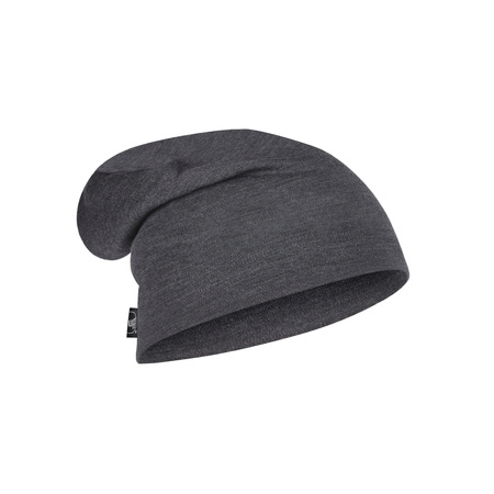 Buff Czapka Zimowa Heavyweight Merino Wool Hat SOLID GREY