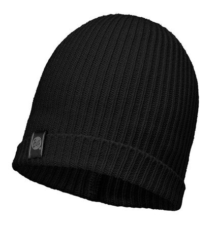 Buff Czapka Knitted Basic Black
