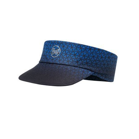 Buff Daszek Do Biegania Pack Run Visor US Buff R-EQUILATERAL CAPE BLUE
