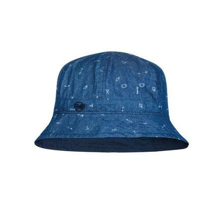 Buff Czapka Bucket Hat Kids ARROWS DENIM