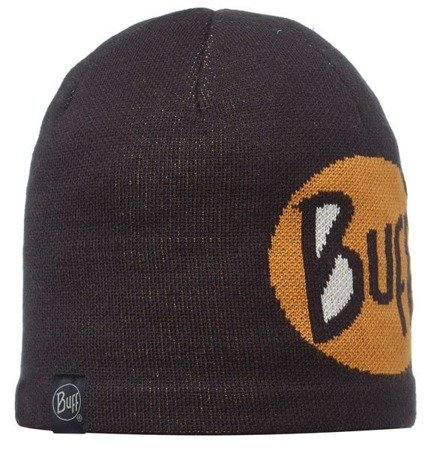 Buff Czapka Knitted & Polar Logo Black