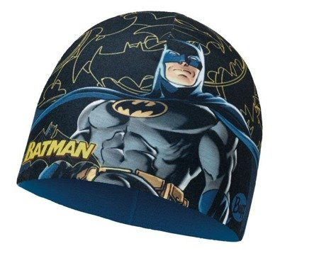 Buff Czapka Junior z Microfibry i Polaru SUPERHEROES DARK BAT