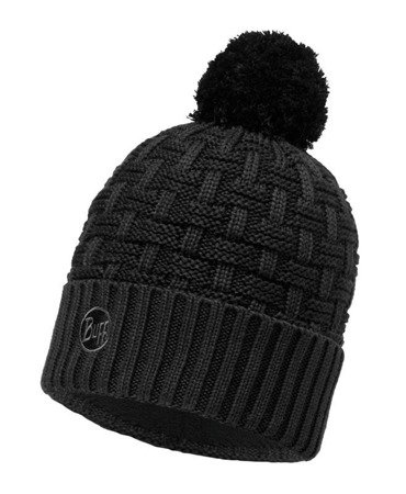 Buff Czapka Knitted & Polar Airon Black