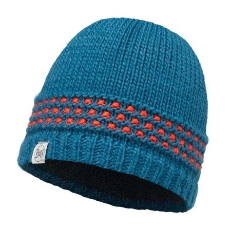 Buff Czapka juniorska Knitted & Polar JAMBO SEAPORT BLUE