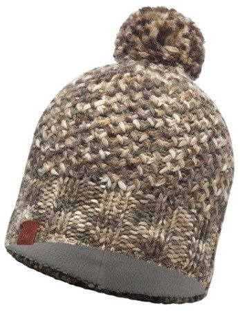 Czapka Buff Knitted & Polar Margo Brown Taupe