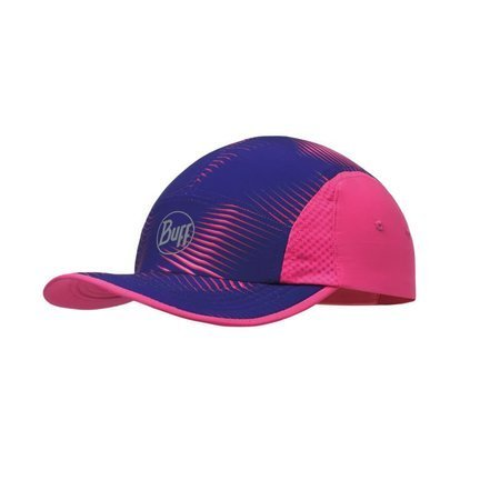 Buff Czapka Do Biegania Run Cap Optical Pink