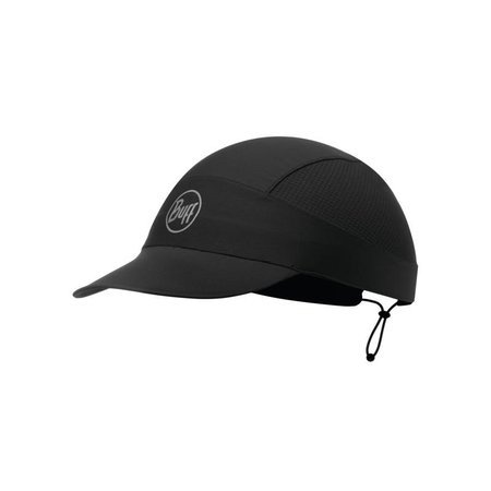 Buff Czapka Do Biegania Pack Cap Professional Solid Black