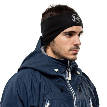 Opaska Buff Windproof Headband GREY LOGO