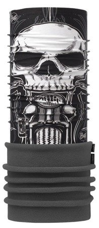 Komin Polar Buff Skull Rider Multi - Black