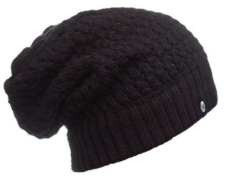 Buff Czapka dwustronna Knitted Neckwarmer Hat Aidan Black