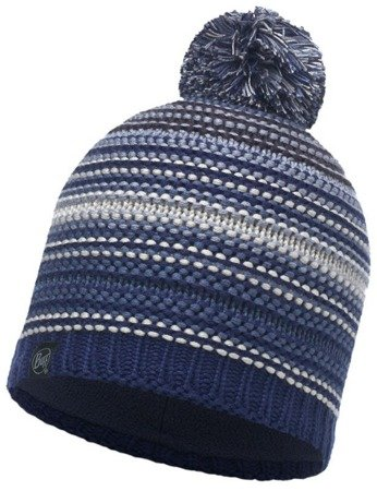 Buff Czapka Knitted Polar Neper Blue Ink