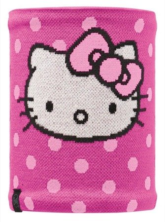 Komin Child Neckwarmer Buff Knitted&Polar HELLO KITTY HELLODOTS